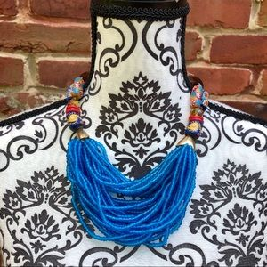 Jewelry - AFRICAN GHANAIAN Tribal Cascade Hand Made Necklace
